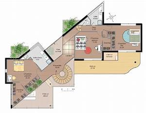plans maison plan de maison duplex architouch 3d pour With maison de 100m2 plan 0 architouch 3d pour ipad dessinez vos plans de maison