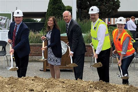 shawmut design construction breaks ground million east