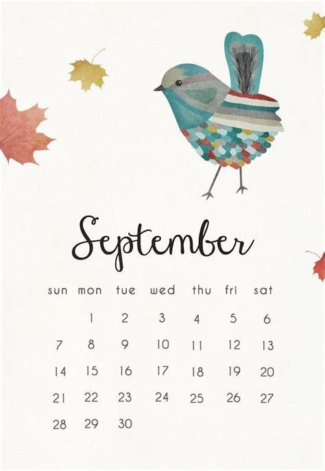 september  calendar mobile wallpaper september