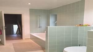 Carrelage Vert D Eau : meilleur de carrelage salle de bain vert d eau 13147 salle de bains tr s bien ~ Melissatoandfro.com Idées de Décoration