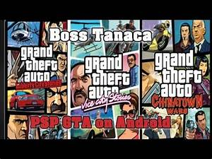 All PSP GTA (Grand Theft Auto) games on Android [PPSSPP ...