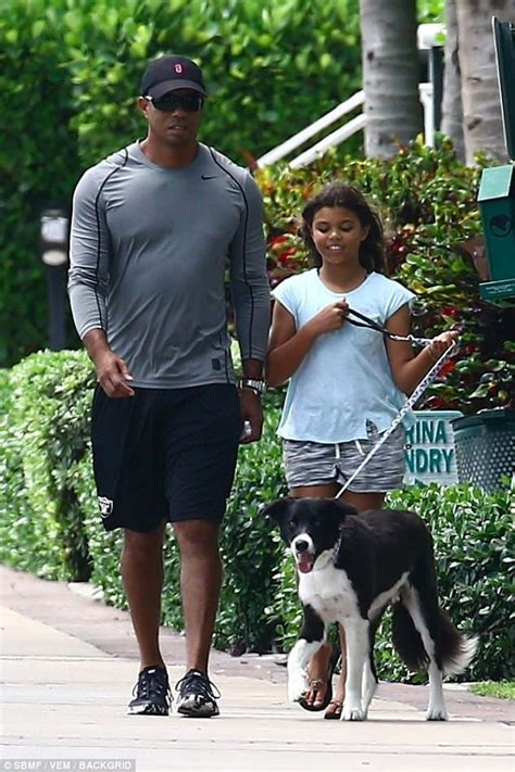 Tiger Woods with his kids in Miami amid custody rumors ...