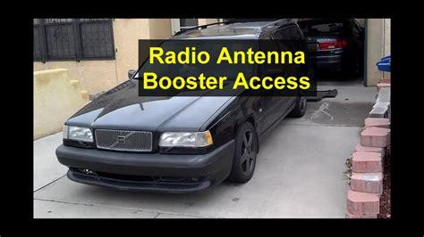 radio antenna booster replacement   volvo