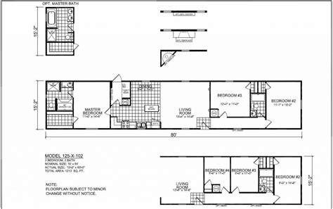 champion mobile homes floor plans