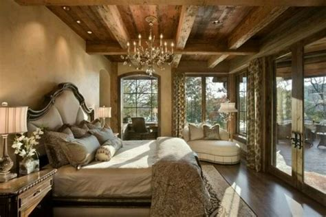 Elegant And Rustic Bedroom