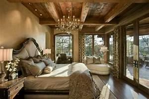 Elegant, And, Rustic, Bedroom