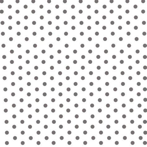 lili pouce papier peint papier peint blanc 224 gros pois gris