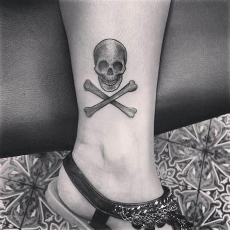 desain tattoo skull keren  mudah  gambar