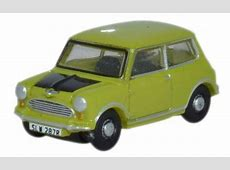 Oxford Diecast Mini Lime Green 1148 Scale