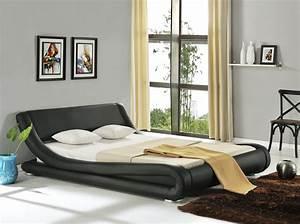 Modernes Bett 180x200 : modernes lederbett polsterbett bett 180x200 schwarz doppelbett pu leder 180cm ebay ~ Watch28wear.com Haus und Dekorationen