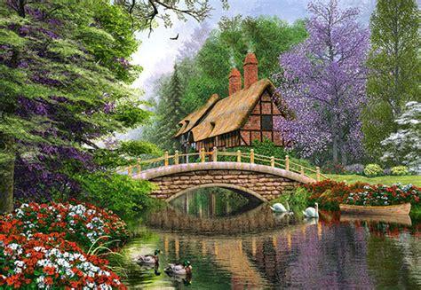 haus am fluss kaufen dominic davison landhaus am fluss 1000 teile castorland puzzle kaufen