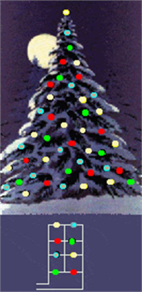 series parallel christmas lights
