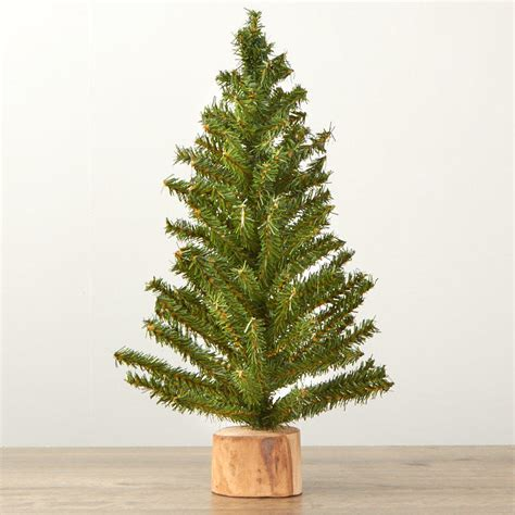 small artificial tree table decor home decor - Small Fake Christmas Trees