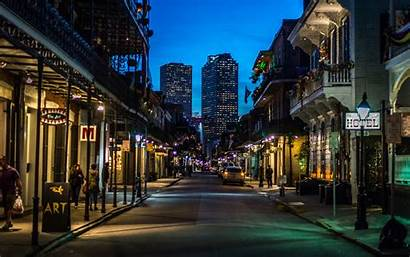 Orleans Quarter French Night Street Wallpapers Things