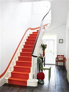 les sols jouent la peinture floriane lemarie With good peinture d une maison 7 decoration montee descaliers