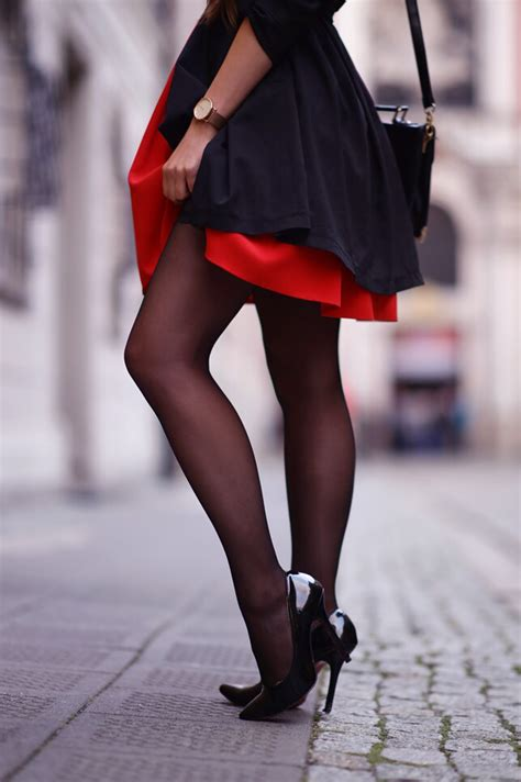 lace thigh high globed black coat dress black and high