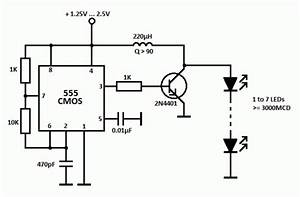 Led Driver With 555 Timer Circuit Diagram World