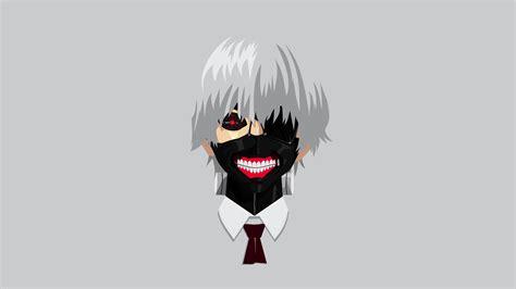 Anime Wallpaper Hd Tokyo Ghoul - anime tokyo ghoul kaneki ken vectors minimalism