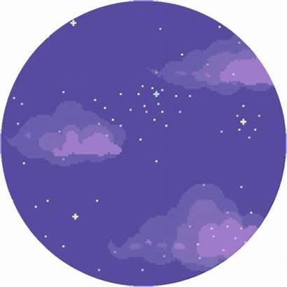 Sky Night Clipart Transparent Anime Circle Pastel