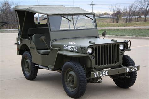ford military jeep 1943 ford gpw authentic ww ii army jeep happy days