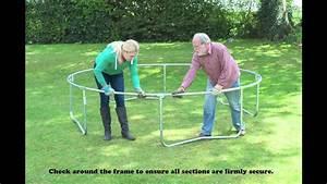 Prix D Un Trampoline : tutoriel de montage d 39 un trampoline jumpking youtube ~ Dailycaller-alerts.com Idées de Décoration