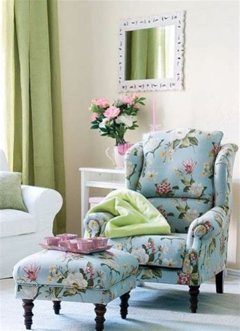 timeless  chic floral print upholstery ideas