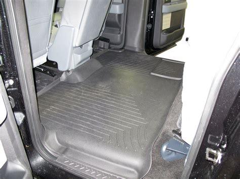 rear floor mats weathertech 2nd row rear auto floor mat black
