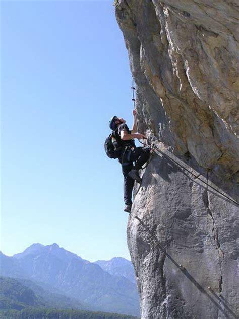 klettersteigde klettersteig beschreibung ewige wand