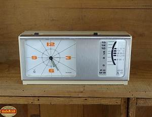 Radio Reveil Vintage : vintage radio r veil jaz des ann es 70 mulubrok brocante en ligne ~ Teatrodelosmanantiales.com Idées de Décoration
