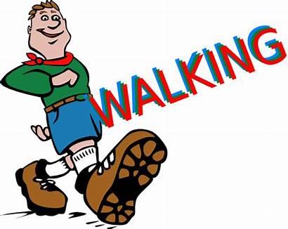 Walking Clip Clipart Cliparts Clker
