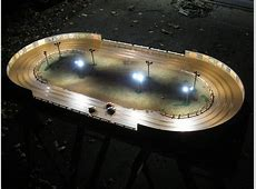 Oval Racing World Readers Roads Scale Slot Car Oval