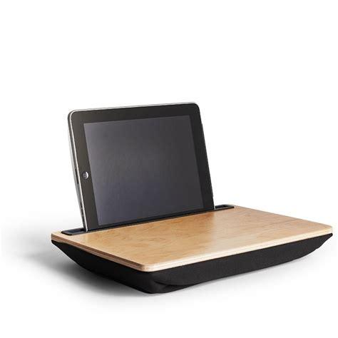 lap desk pillow for ipad wood ibed lap desk fits ipad tablet gadget accesssory