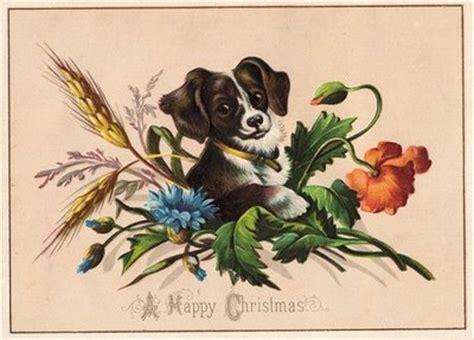 vintage clip art cute puppy  graphics fairy