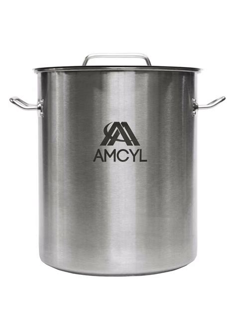 kettle gallon brew stainless steel elements pots brewing lid beverage kettles homebrewing