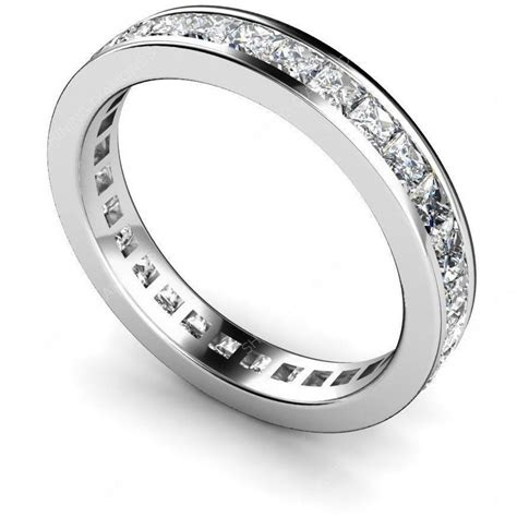 14k Sterling Silver Princess Diamond Cut Eternity Wedding. Raised Engagement Rings. Bright Earrings. Silver Jewellery Online. Bracelet Gemstone. Jewelry For Sale Online. Ruby Jewelry. Black Gold Watches. Rhinestone Stud Earrings