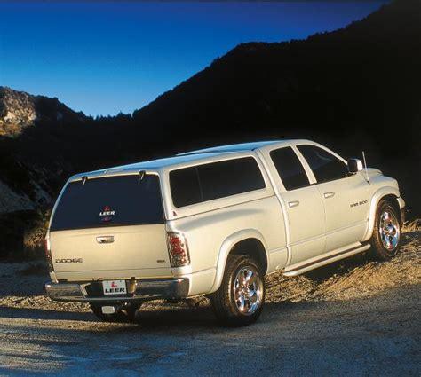 leer truck dodge 100xl cap caps topper camper shells toppers ram fiberglass 1500 cab chevy az 2002 popscreen ridgeline honda