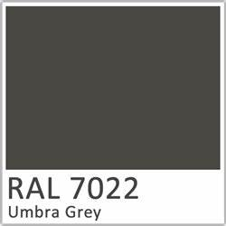 Ral 7022 Gt Polyester Pigment Umbra Grey