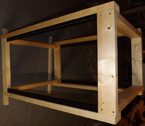 diy server rack diy build your own 19 quot server rack cheap and easy home