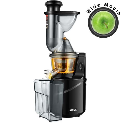 juicer juice extractor masticating mouth vegetable wide aicok slow fruit whole juicers cc centrifugal machine cabbage raw