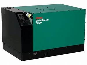 Cummins Onan 6 5kw 63a Diesel Commercial Qd 6500 Generator 6 5hdkat