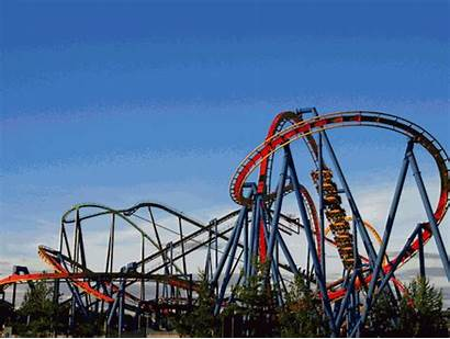 Superman Six Roller Coaster Theme Flags Gifs
