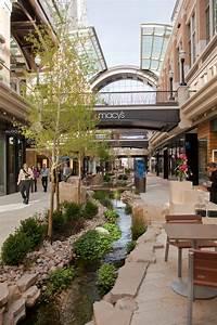 City Creek Center shopping area in SLC, Utah. Photograph ...