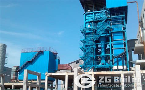 ton circulating fluidized bed boiler