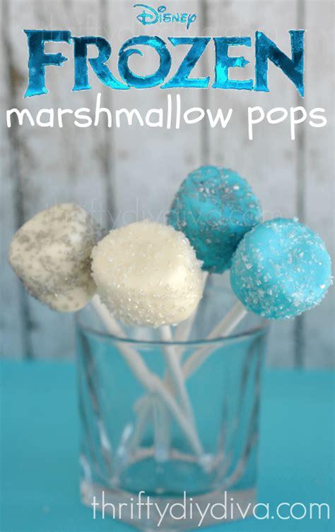 frozen pops disney frozen marshmallow pops party invitations ideas
