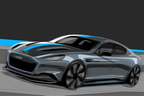 electric aston martin rapide confirmed  production