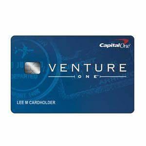 Capital oner ventureoner rewards credit card for Capital one venture business card