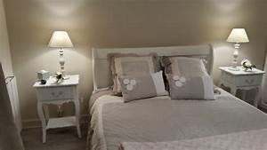 best deco chambre romantique blanc images design trends With deco chambre lin et taupe