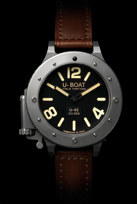 U Boat U42 Review by The Breitling 187 Another U Boat U 42 Limited