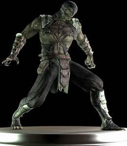 Mortal Kombat 9 Cyber Reptile
