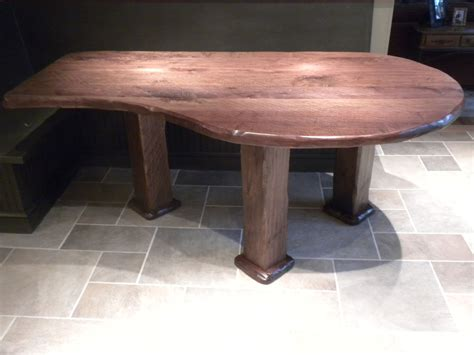 Handmade Walnut Kitchen Table By Chesapeake Cabinet And